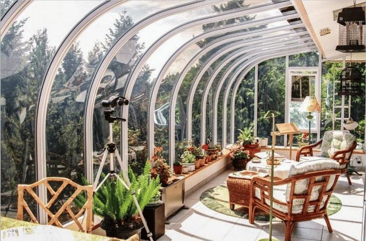tout savoir sur les jardins d hiver jardiner facile. Black Bedroom Furniture Sets. Home Design Ideas